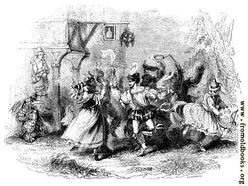 [Picture: 1377.—Whitsun Morris-Dance.]