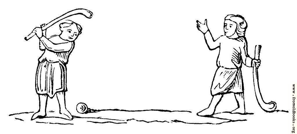 [Picture: 1384.—Golf, or Bandy-ball.]