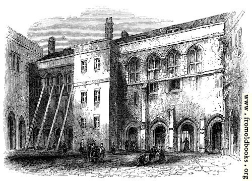 [Picture: 1675.—North side of the Priory Cloisters, Christ's Hospital.]