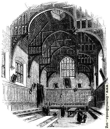 [Picture: 1731.—Gray's Inn Hall.]