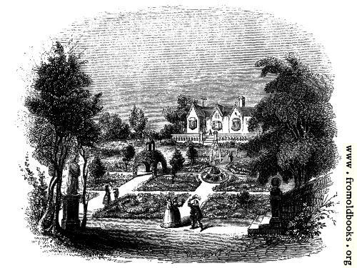 [Picture: 1801.—A Knotted Garden.]