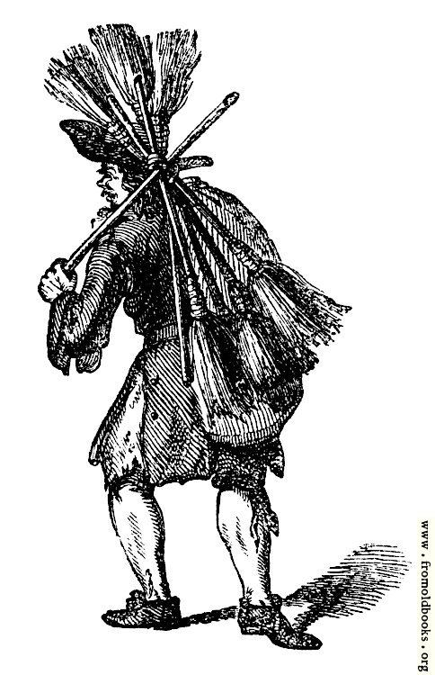 [Picture: 2056.—Old Shoes for some Brooms!]