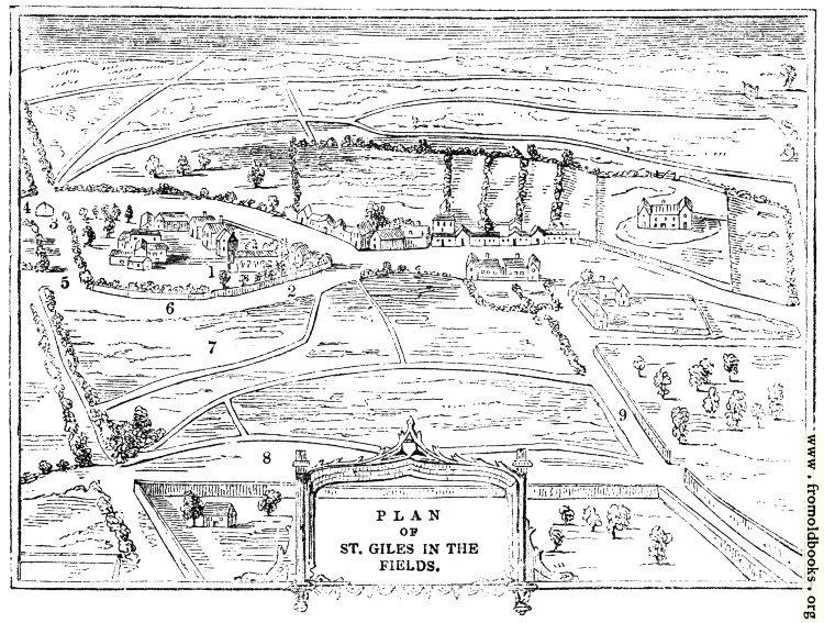 [Picture: 2086.—Plan of St. Giles in the Fields.]