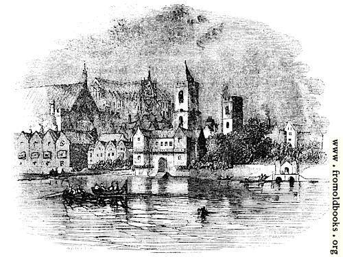 [Picture: 2087.—Westminster About 1600.]