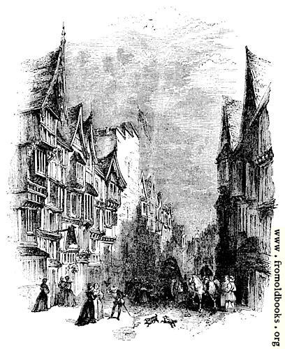 [Picture: 2089.—Barbican. (Designed from ol maps and Elevations, temp. James and Charles I.)]
