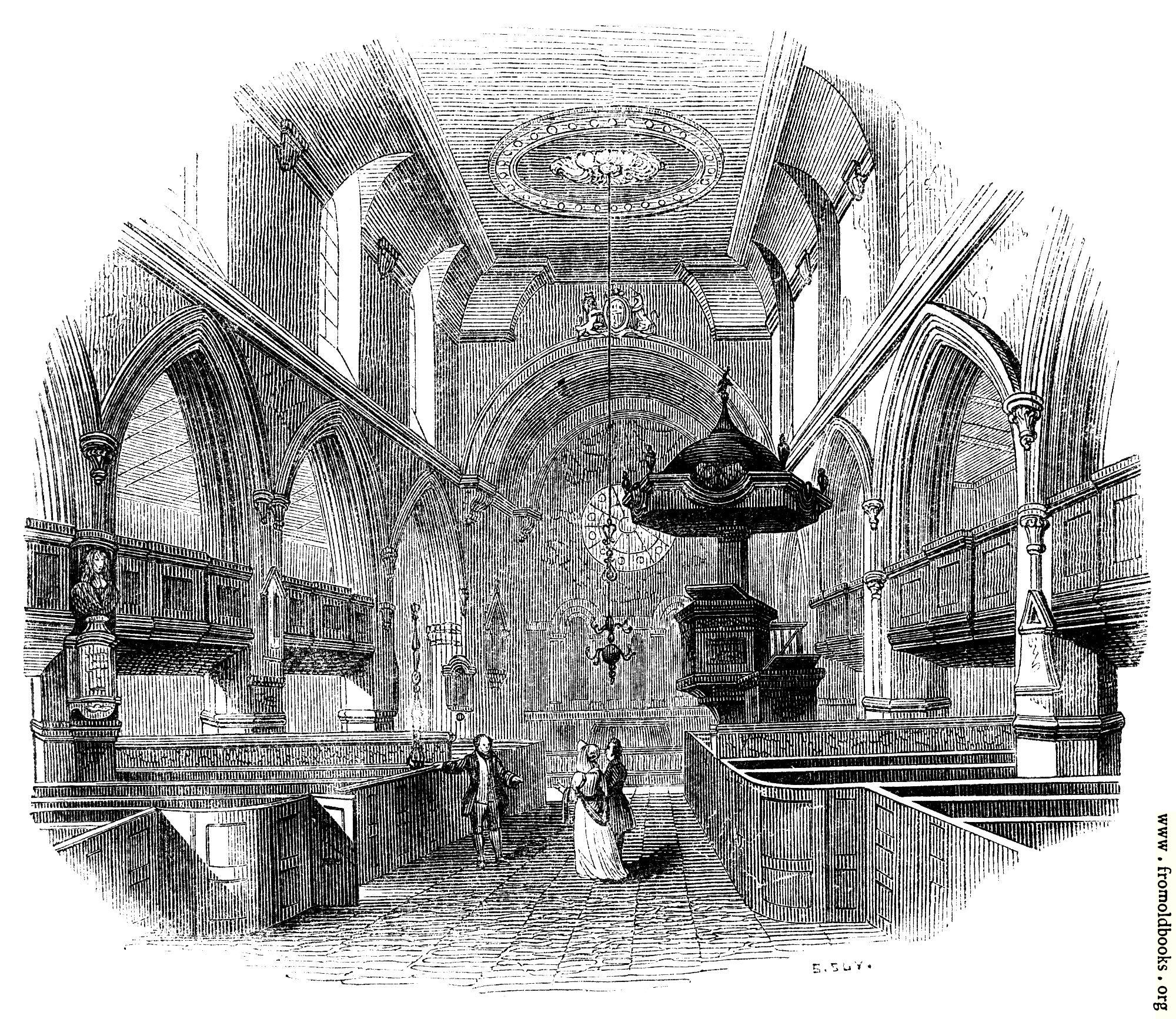 [Picture: 2175.—Chancel of St. Giles, Cripplegate.]