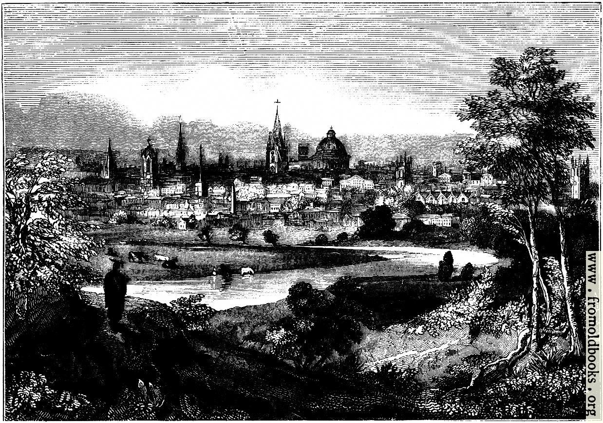 [Picture: 2271.—Oxford from the Abingdon Road.]