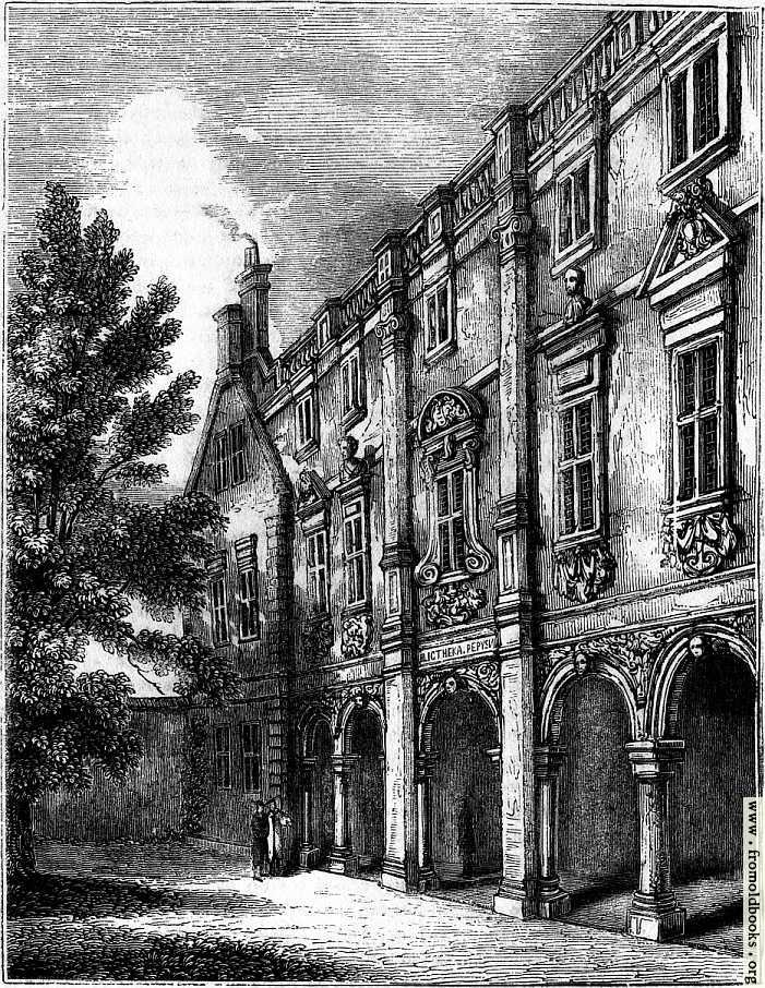 [Picture: 2280.—The Pepysian Library, Magdalene College, Cambridge]
