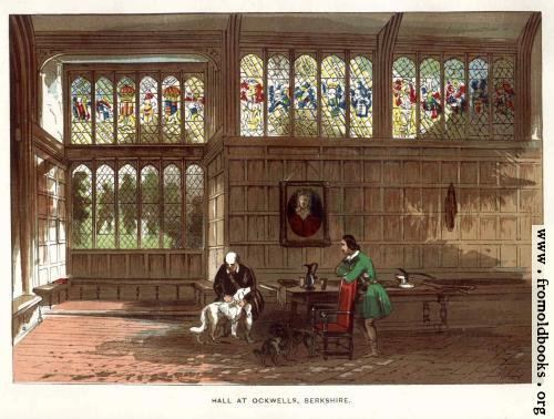 [Picture: Hall at Ockwells Manor]