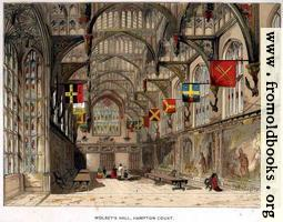 [Picture: Wolsey's Hall at Hampton Court]