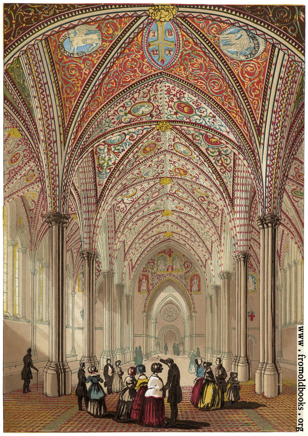 [Picture: Interior of the Temple Church.]