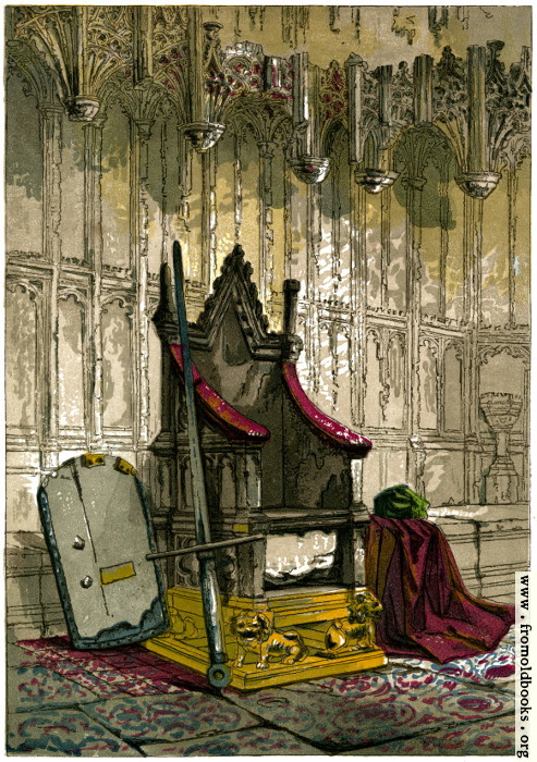 [Picture: The Coronation Chair]