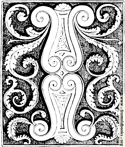 [Picture: Floriated Initial I, Violin-Style]