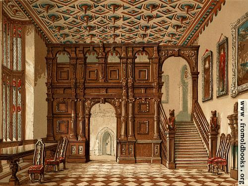 [Picture: Methley Hall, Wallpaper Version]