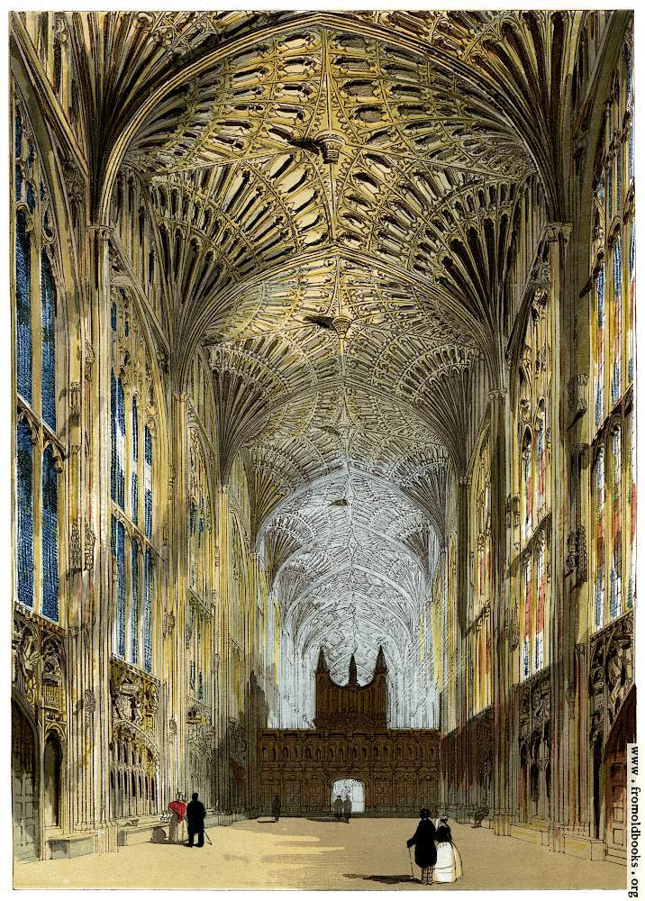 [Picture: King's College Chapel, Cambridge.]