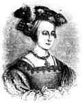 Portrait of Anne Boleyn, wive of King Henry VIII of England