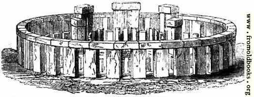 [picture: 3.---Stonehenge.--Perspective Elevation, restored.]