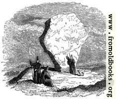 [picture: 8.---Druidical Stone in Persia.]