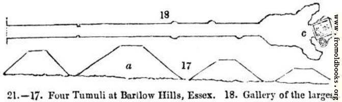 [picture: 21.---Four Tumuli at Barlow Hills, Essex]