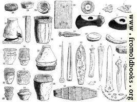 [picture: 24.---Contents of Ancient British Barrows]