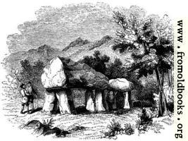 [picture: 40.---Cromlech at Plas Newydd, Anglesey]
