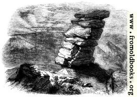[picture: 46.---Kilmarth Rocks, as seen from the South East.]