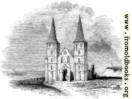 [picture: 103.---Ruins of the Ancient Church of Reculver.]
