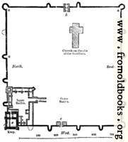 [picture: 104.---Plan of Porchester Castle, Hants.]
