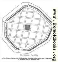 [picture: 125.---Silchester.  Plan of City.]