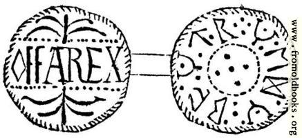 [picture: 234.---Silver Penny of Offa, King of Mercia.]