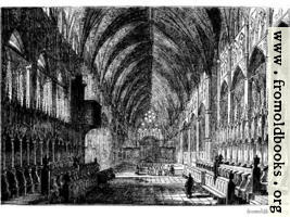 [picture: 577.---Interior of Lincoln Cathedral.]
