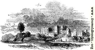 [picture: 818.---Ruins of Kenilworth in the 17th Century.]