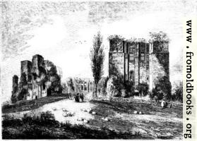[picture: 822.---View of Kenilworth Castle from the Gate-House.]
