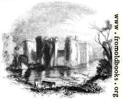 [picture: 925.---Bodiam Castle, Sussex.]