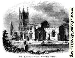 [picture: 1049.---Lutterworth Church.]