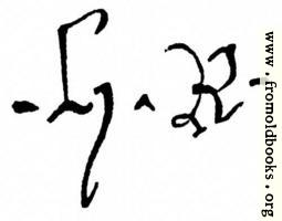 [picture: 1154.---Signature of Henry IV.]