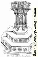 [picture: 1313.---Font in East Dereham Church, Norfolk]