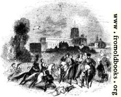 [picture: 1376.---St. Albans Hawking Party]