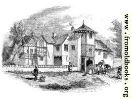 [picture: 1672.---Hulme Hall, Lancashire.---Front View.]