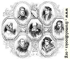 [picture: 1737.---Portraits of Poets At the time of Shakespeare]