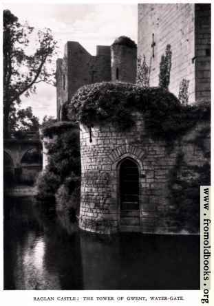 [Picture: Raglan Castle, Monmouthshire, Wales]