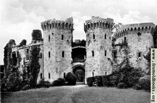 [Picture: Raglan Castle]