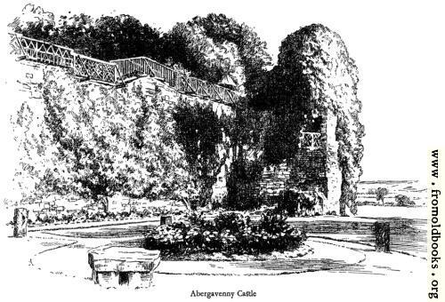 [Picture: Abergavenny Castle]