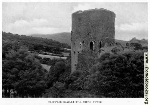 [Picture: Tretower Castle]