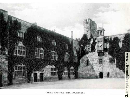 [Picture: Chirck Castle: the courtyard]