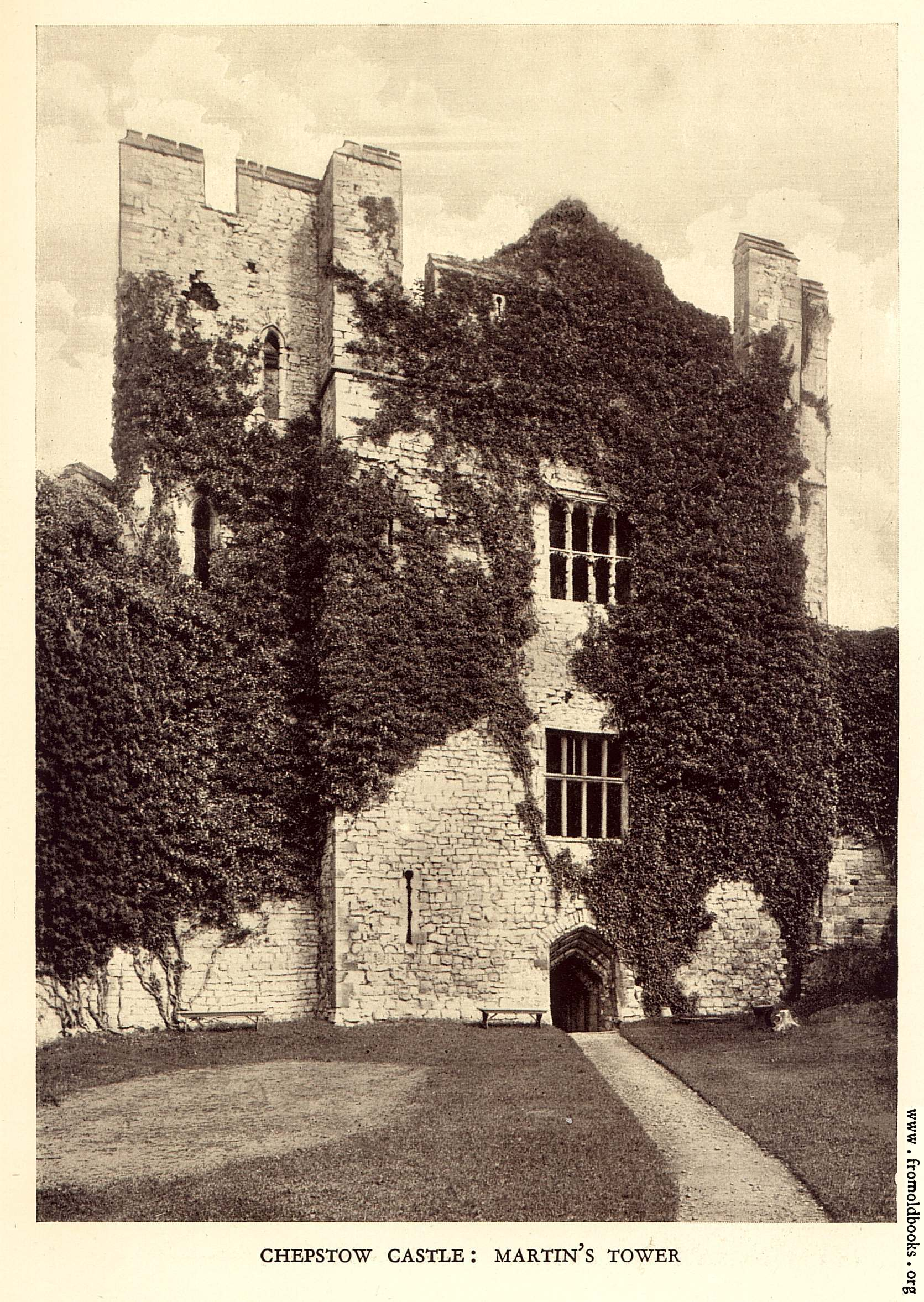 [Picture: Chepstow Castle: Martin's Tower]