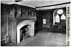 [Picture: Stokesay Castle: Interior: Solar Room]
