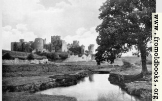 [picture: Caerphilly Castle from the South.]