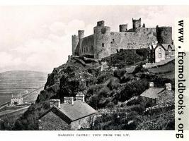 [picture: Harlech Castle: View from South West]