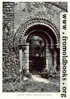 [picture: Ludlow Castle: Gate-way of chapel]